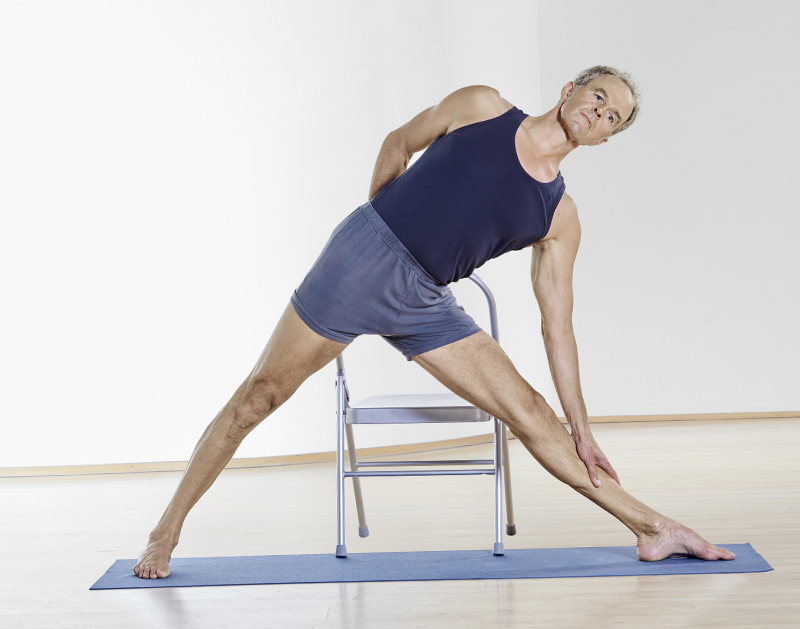 Yogapose stehend